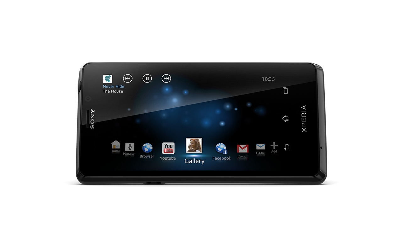 Sony Xperia T Zwart