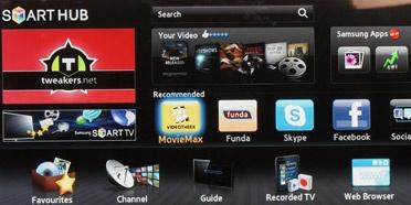 Samsung PS51D8000 Smart Hub-interface