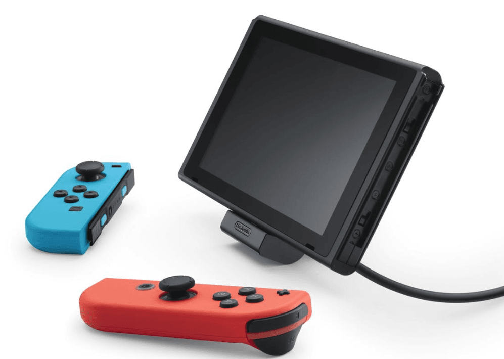 Nintendo Brengt Compacte Standaard Uit Die Switch Kan