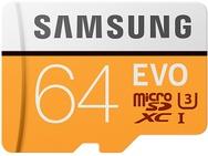 Goedkoopste Samsung MicroSDXC EVO 64GB