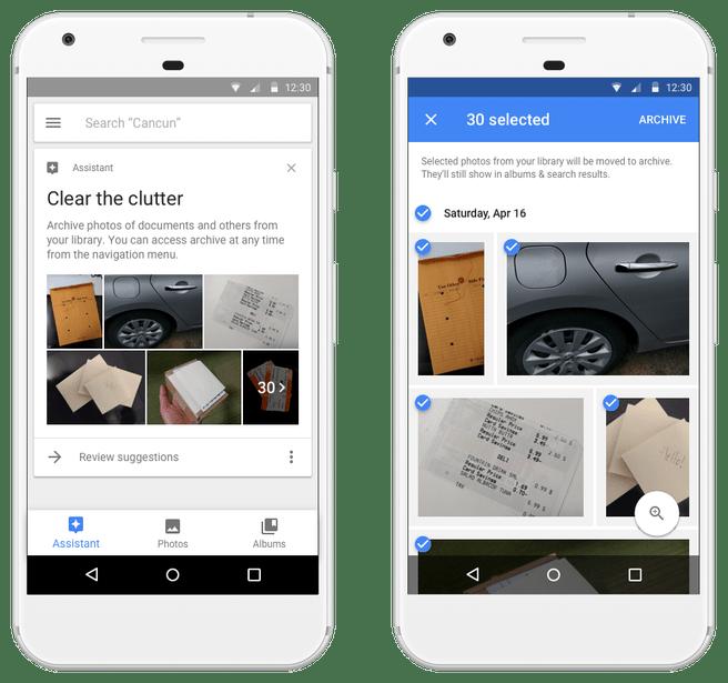 Google Photos suggestion