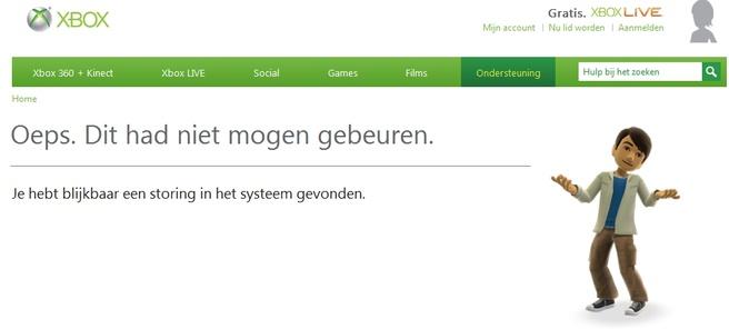 Xbox Live probleem