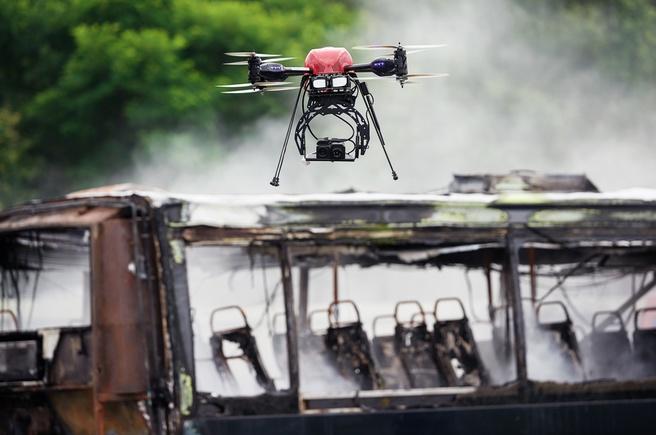 argus altura drone brandweer