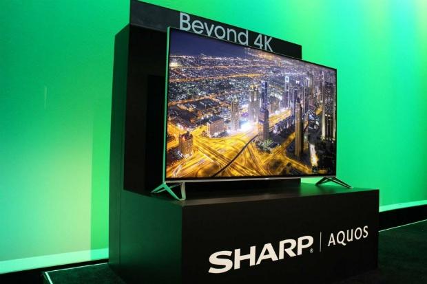 """80""""-tv van Sharp"""