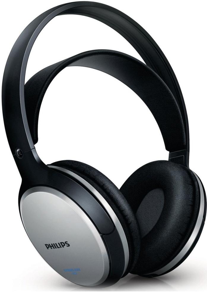 Philips Wireless Hi-Fi Headphone SHC5102 (Zwart) ... 41fc6a1e73c4