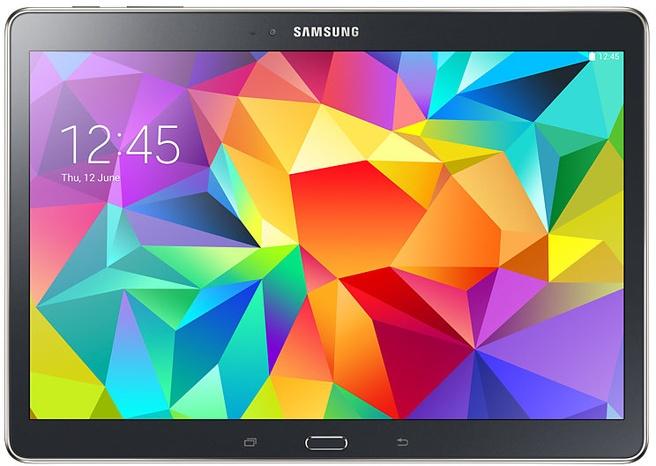 "Samsung Galaxy Tab S 10.5"" WiFi 16GB Grijs"