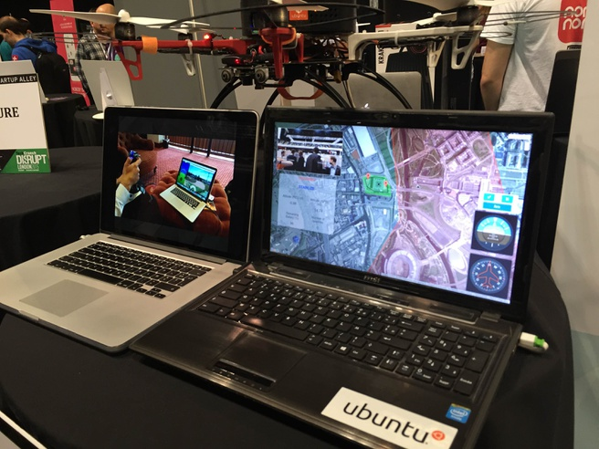 uavia drone ubuntu