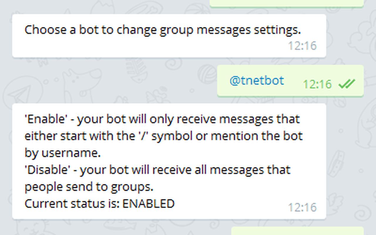 Telegram-bots en privacy