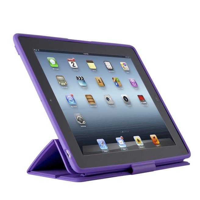 Speck PixelSkin HD Wrap voor iPad (2012) (Grape)