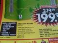 Prijsverlaging Xbox 360 in krantje Bart Smit