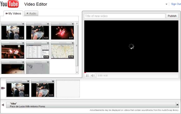 Youtube Vide Editor