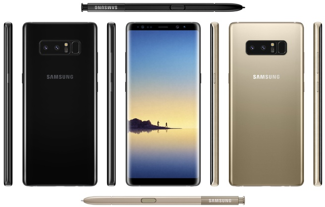 Samsung Galaxy Note 8 Evleaks part 2