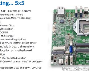 Intel 5x5 introductie