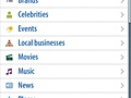 Yahoo OnePlace Categories