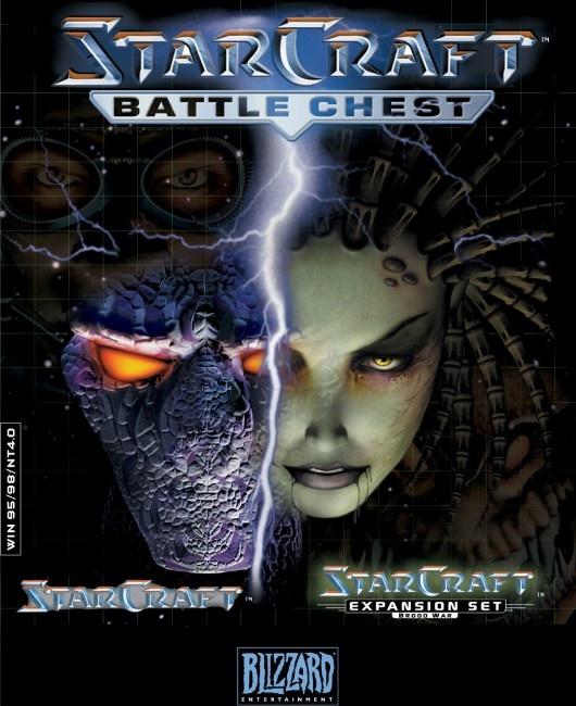 Starcraft, Battlechest (Starcraft & Starcraft, Broodwar (Add-On), PC