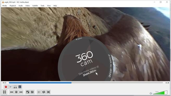 VideoLAN VLC 3.0 360