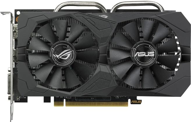 Asus ROG Strix Radeon RX 560 O4G EVO Gaming OC Edition
