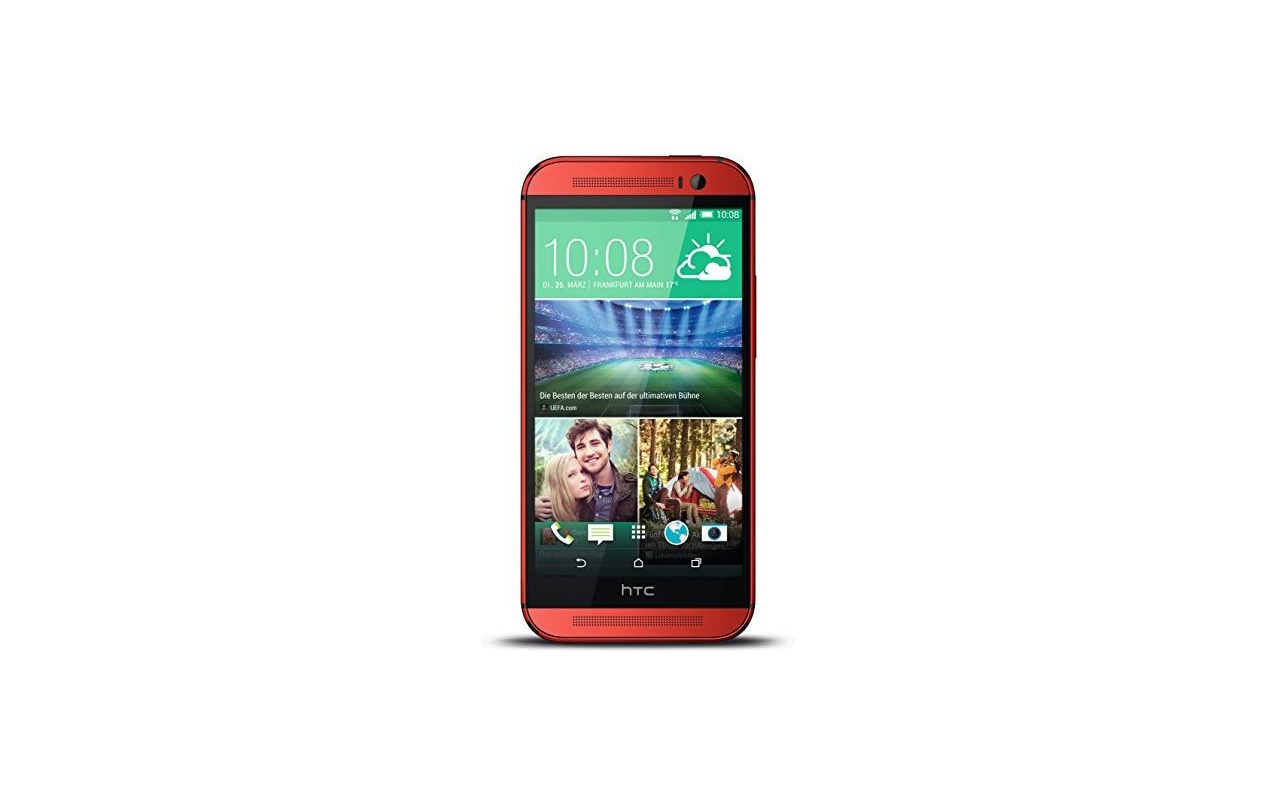 HTC One One (M8) 16GB Rood