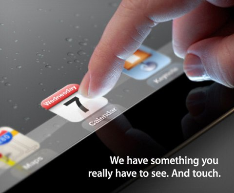 iPad 3-uitnodiging