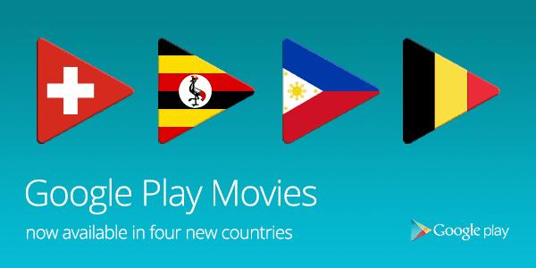 Google Play Belgium Switzerland