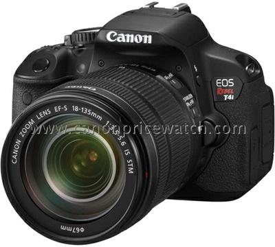 Canon EOS 650D uitgelekt