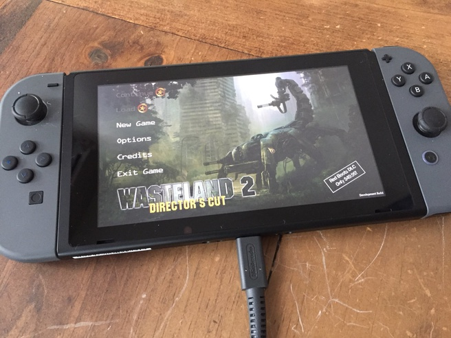 Wasteland 2 op de Nintendo Switch