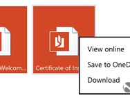 OneDrive in Outlook.com
