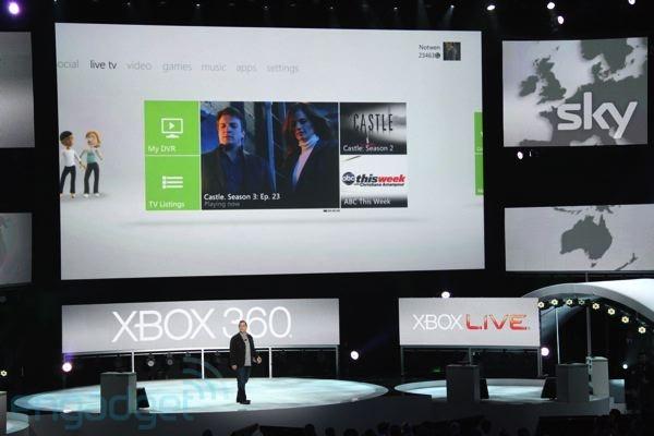 Nieuwe gui Xbox Live