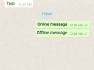 WhatsApp zwakte Boelter