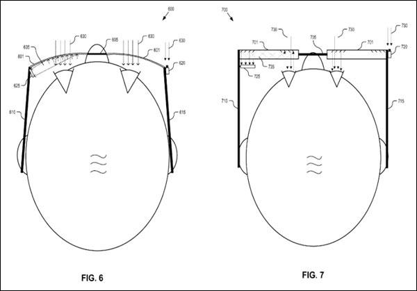 Google Glass-patentaanvraag