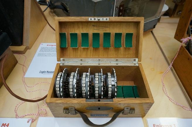 Enigma rotors Crypto Museum