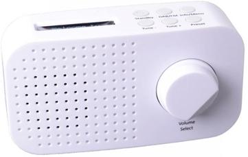 Tiny Audio Ami DAB+ Radio Wit
