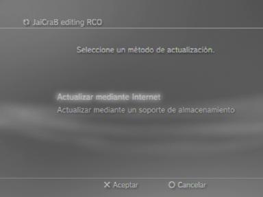 Jailcrab-tool voor PS3