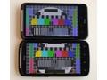 HTC Sensation schermtest