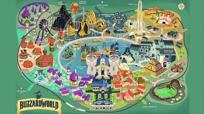 Blizzard World map