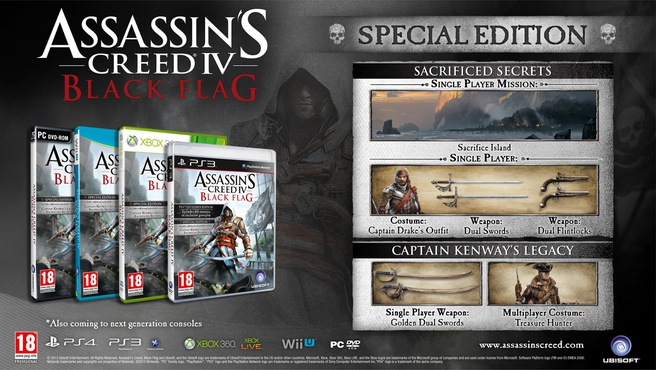 Assassin's Creed IV: Black Flag Special Edition, Xbox 360