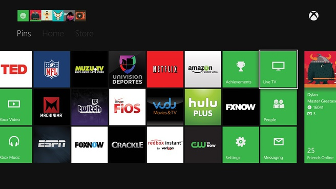 Xbox One-apps
