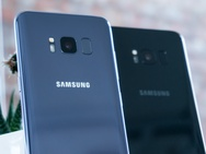 Samsung Galaxy S8 productfoto's preview