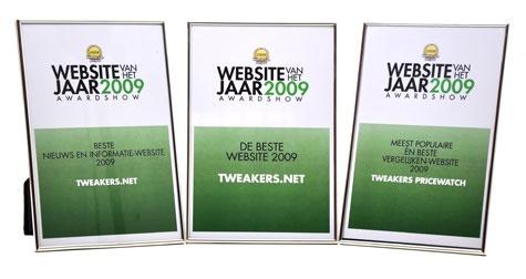 Awards Website van het Jaar 2009