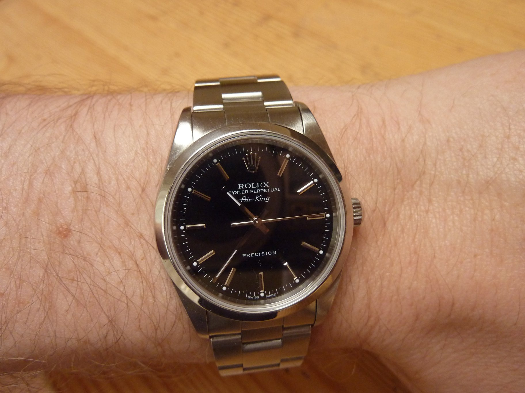 Air King 14000M on the wrist! , Rolex Forums , Rolex Watch Forum