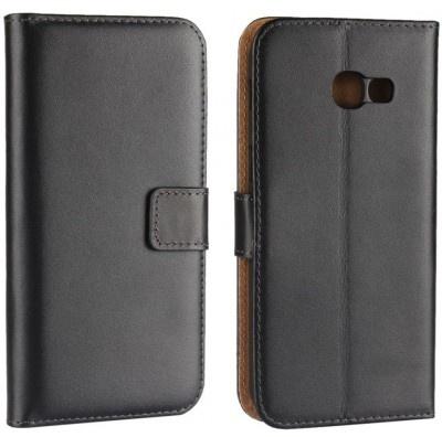 qMust Elegant wallet case Samsung Galaxy A5 (2017) - met stand - Black