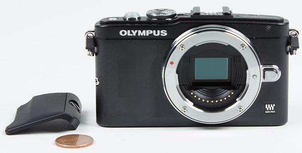 Olympus E-PL5 verwisselbare grip