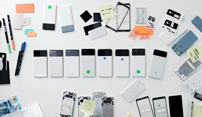 Google Pixel 2-prototypes