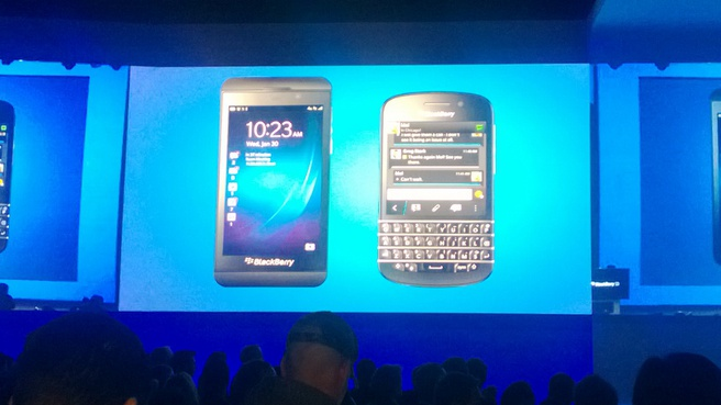 BlackBerry Z10 en Q10