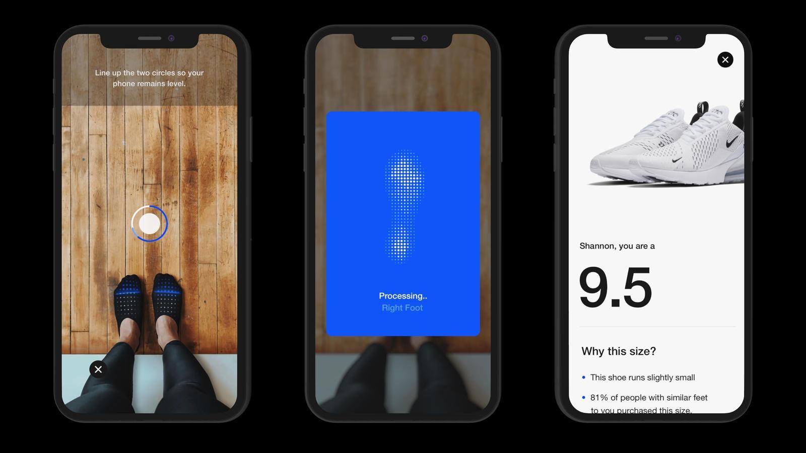 Nike werkt aan app die via augmented reality de juiste