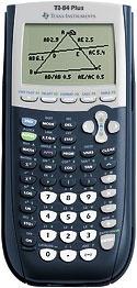 Texas Instruments ti-84+ calculator