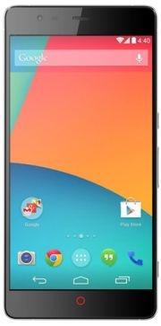 Mockup: ZTE Nubia met stock Android