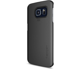 Spigen Thin Fit Samsung Galaxy S6 edge Case  Zwart