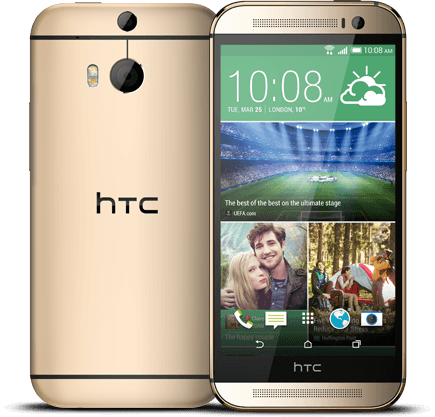 HTC One M8s Goud