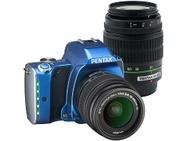 Goedkoopste Pentax K-S1 Fabric Collection + DA 18-55mm f/3,5-5,6 AL + DA 50-200mm f/4-5.6 ED Zwart